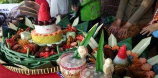 Wisata Kuliner Warisan Majapahit, Tumpeng Empat Warna.