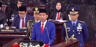 Berikut Isi Pidato Lengkap Presiden Jokowi di Sidang Tahunan MPR RI 2019.