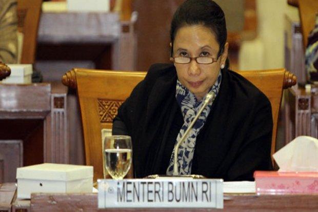 Menteri Badan Usaha Milik Negara (BUMN) Rini M. Soemarno.
