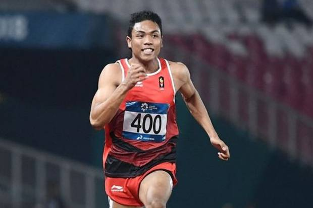 Bertahan 10 Tahun, Zohri Patahkan Rekor Nasional Junior Lari 200 Meter.