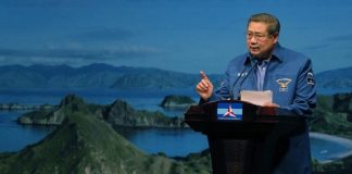 Ulang Tahun ke-70 SBY Sampaikan Pidato Politik.