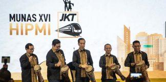 Presiden Jokowi Bakal Buka Munas HIPMI 2019.