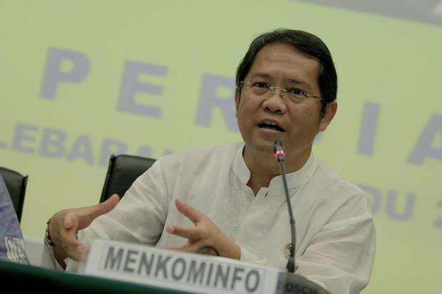 Menteri Komunikasi dan Informatika Rudiantara.