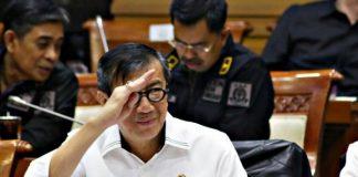 Menteri Hukum dan HAMYasonna Laoly.