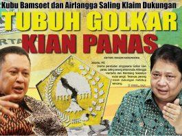 Bambang Soesatyo dan Airlangga Hartarto.