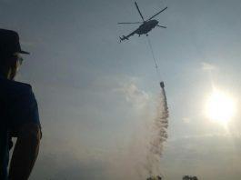 Pemerintah Diminta Perbanyak Water Bombing & Hujan Buatan.