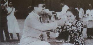 Kisah Cinta Presiden Pertama RI Soekarno-Hartini.