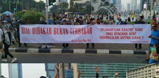 Masyarakat Riau Keluarkan Petisi Terkait Kabut Asap Karhutla.