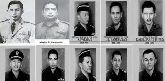 Peristiwa G30S/PKI dan Para Pahlawan Revolusi.
