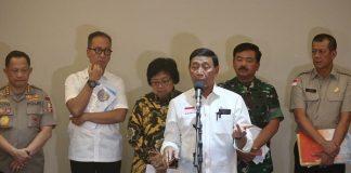 Jokowi Tekankan Upaya Pencegahan dalam Mengatasi Karhutla.