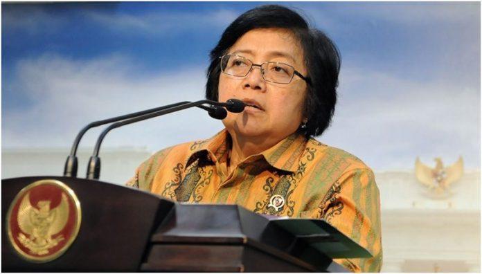 Menteri Lingkungan Hidup dan Kehutanan (LHK) Siti Nurbaya Bakar