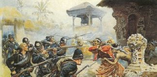 Perang Jawa Inggris-Belanda.