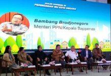 Menteri Perencanaan Pembangunan Nasional (PPN) atau Bappenas Bambang Brodjonegoro.