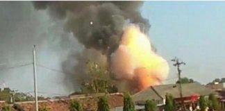 Ledakan di Mako Brimob Jawa Tengah.