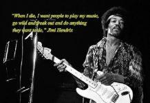 Musisi Legenda Jimi Hendrix.