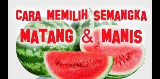 Tips Memilih Semangka yang Matang dan Manis.