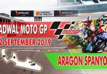 Jadwal MotoGP Aragon 2019.