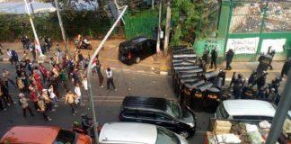 Ratusan Siswa STM Serang Anggota Polisi di DPR.