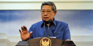 Presiden ke-6 Republik Indonesia, Susilo Bambang Yudhoyono (SBY).