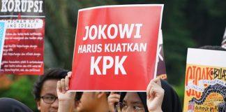 Jokowi Diminta Bersama Rakyat Mendukung KPK.