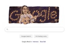 Memperingati hari lahir Chrisye, Google Pasang Wajah Almarhum Chrisye.