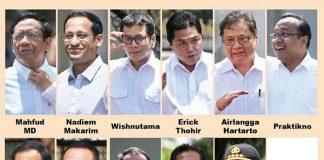 Berikut Nama-nama Calon Menteri yang Sudah Dipanggil Jokowi ke Istana.