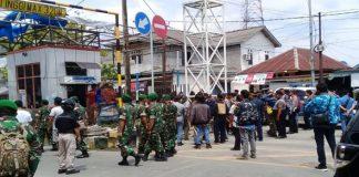 Pasca Kerusuhan Kondisi Penajam Paser Utara Mulai Kondusif.