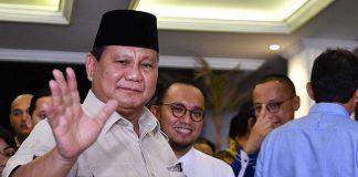 Ketua Umum Gerindra, Prabowo Subianto.