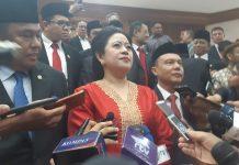 Ketua Dewan Perwakilan Rakyat (DPR) Puan Maharani.