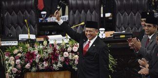 Bambang Soesatyo resmi menjadi ketua Majelis Permusyawaratan Rakyat (MPR) periode 2019–2024.