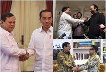 Rangkaian Safari Politik Prabowo Subianto.