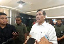 Menteri Koordinator Bidang Kemaritiman Luhut Pandjaitan.