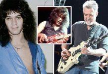 Gitaris legendaris Eddie van Halen.