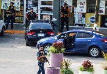 Anggota kelompok kartel narkoba mengepung pasukan keamanan di Kota Culiacan, Meksiko,