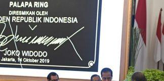 Jokowi Resmikan Proyek Palapa Ring.
