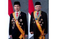 Pasangan Joko Widodo (Jokowi) - Ma'ruf Amin.