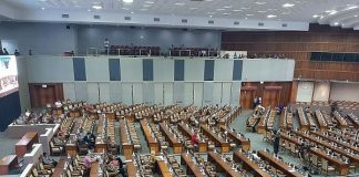 DPR Gelar Rapat Paripurna Penetapan Anggota Fraksi AKD.a