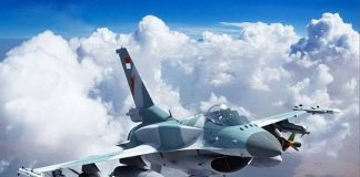 pesawat jet tempur F-16 Viper Block 72.