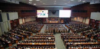 DPR Gelar Paripurna Penetapan AKD Periode 2019-2024.