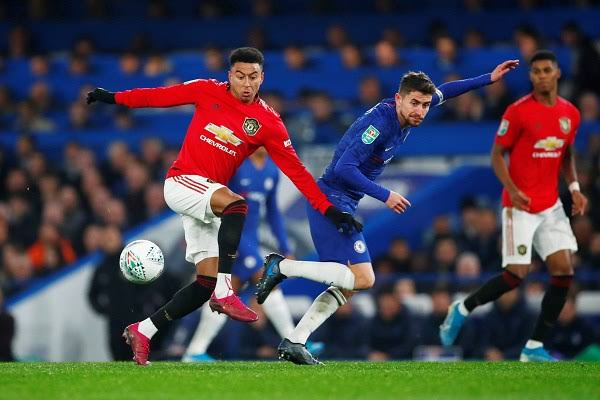 Pertandingan putaran keempat Piala Liga Inggris 2019-2020 antara Chelsea dan Manchester United.