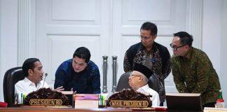 Presiden Joko Widodo meminta para menteri mencegah meluasnya manipulator agama atau radikalisme.