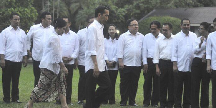 Berikut Kriteria dan Nama Menteri yang Bakal Dipertahankan Jokowi