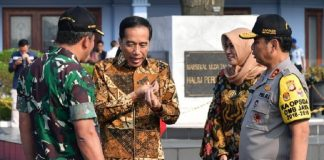 Jokowi Hadiri Peringatan Hari Batik Nasional 2019 di Boyolali.
