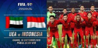 Jadwal Timnas Indonesia vs UEA, Garuda Wajib Raih Poin.