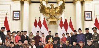 Presiden Joko Widodo disebut akan menggelar acara perpisahan dengan Wakil Presiden Jusuf Kalla dan para menteri Kabinet Kerja periode 2014-2019.