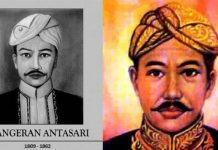 Pangeran Antasari meninggal pada masa perjuangannya di Perang Banjar antara Kesultanan Banjar dan Belanda.