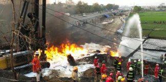 Kebakaran Pipa Pertamina Hingga Tutup Tol Padaleunyi.