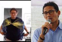 keputusan Sandiaga Salahuddin Uno kembali masuk Partai Gerindra diumumkan melalui akun media sosialnya.