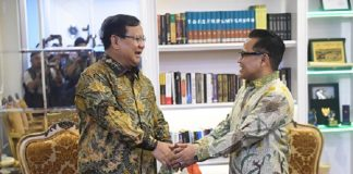 Prabowo Subianto dan Muhaimin Iskandar.