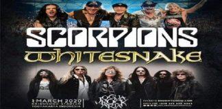 JogjaROCKarta 2020 akan menghadirkan Scorpions dan Whitesnake.